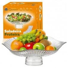 Fruteira Saladeira Vidro com Pé - Ruvolo