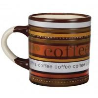 Mini Caneca Cerâmica para Café 110ml Caboclo Marrom - Yazi