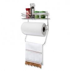 Porta Condimentos com Suporte para Papel Toalha e Pano de Prato - Erca Aramados