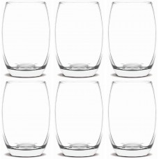 Copo Bellize Cristal Long Drink 450ml Vidro Jogo 6 Unidades - Cisper