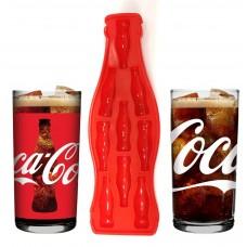 Copo Classic Coca Cola Vidro Jogo 2 Unidades 390ml Nadir e Forma de Gelo Mini Garrafas