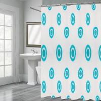 Cortina Box Banheiro Estampada - Yazi