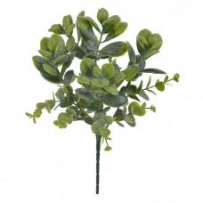 Folhagem Artificial Eucalipto Verde 26cm - Flor Arte