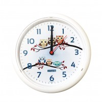Relógio de Parede Decorado Coruja 25cm - Ambiente