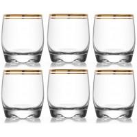 Jogo com 6 Copos para Whisky - LAV Atlantica Adora