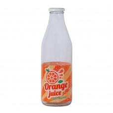 Garrafa de Vidro Italy Retrô Orange Juice 1Litro - Yazi