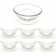 Conjunto de Sobremesa Bowl 7 Peças Diamond - Unicasa