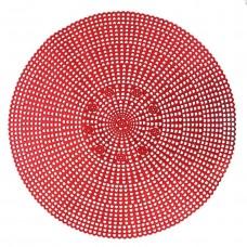Lugar Americano Macromê Vermelho 41cm - Magizi