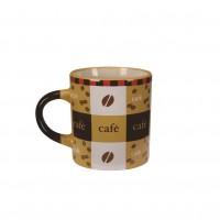 Mini Caneca Cerâmica para Café 110ml Pilão Amarela - Yazi
