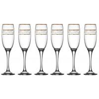 Taça Misket Sultan Champagne 190ml Jogo 6 Unidades - Vitrizi