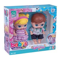 Babys Collection Mini Gemêos Super Toys