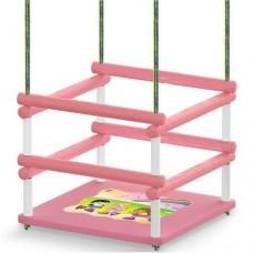 Balanço Infantil Color Madeira Com Proteção Extra - Junges
