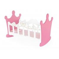Berço de Bonecas Princesas Madeira - Junges