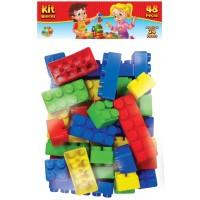 Kit Blocos 48 pçs - GGB Brinquedos
