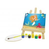 Kit de Pintura com a Pequena Sereia - Junges