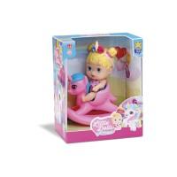 Boneca Little Dolls Balancinho Unicórnio - Diver Toys
