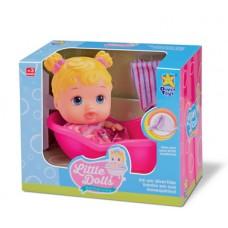 Boneca Little Dolls Banheirinha - Diver Toys