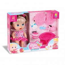 Boneca Little Dolls Come Come - Diver Toys