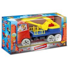 Caminhão Maquinatron Escavadeira - GGB Brinquedos