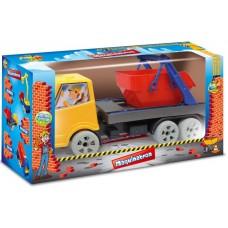 Caminhão Maquinatron Papa Entulho - GGB Brinquedos
